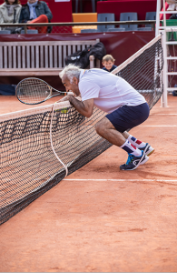 Mansour Bahrami Match exhibition